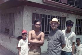 P.Adriano Cadei, tondo 1973