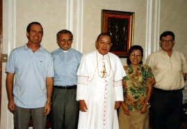 With Cardinal Sin, Re, Cazzaniga, Cora e Sandalo