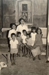 Bro Arici in cappella a Santa Cruz