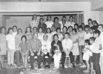 1971 Agosto 13 P. Adriano riceve il benvenuto al termine del cursillo